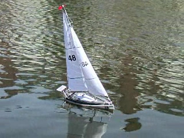 Radio - controlled Sailboat Replica - image 9 from the video