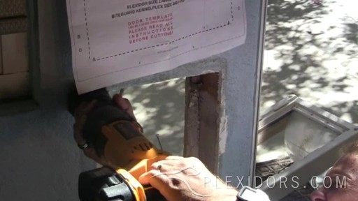 PlexiDor Pet Door  - image 5 from the video