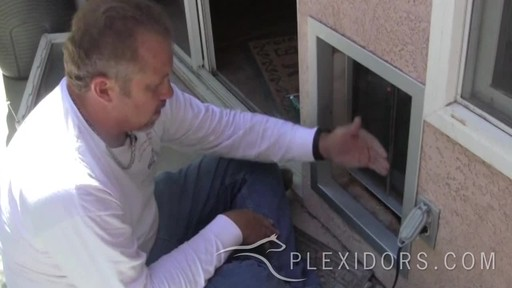 PlexiDor Pet Door  - image 7 from the video