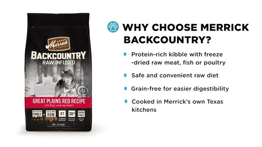 Merrick Backcountry Dry Dog Food - image 3 from the video