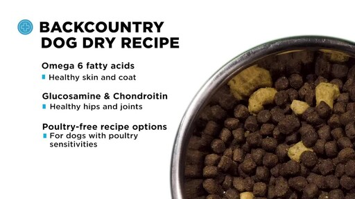 Merrick Backcountry Dry Dog Food - image 6 from the video