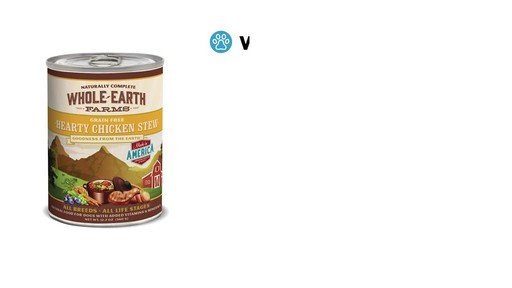 Whole Earth Farms Wet Dog Food - image 2 from the video