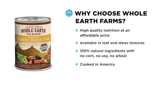 Whole Earth Farms Wet Dog Food - image 3 from the video
