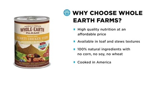 Whole Earth Farms Wet Dog Food - image 4 from the video