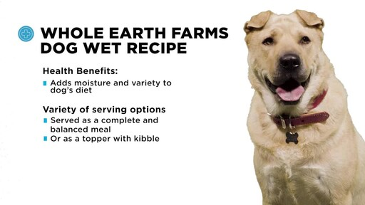 Whole Earth Farms Wet Dog Food - image 6 from the video