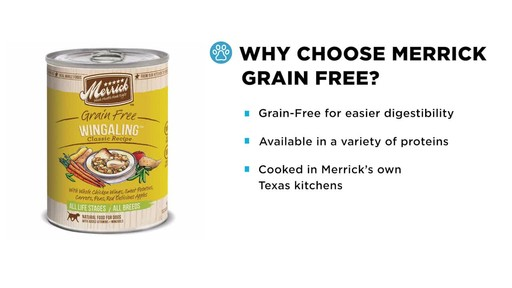 Merrick Grain Free Wet Dog Food - image 3 from the video