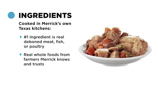 Merrick Grain Free Wet Dog Food - image 8 from the video