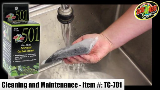 Zoo Med Turtle Clean 511 Turtle Tank External Canister Filter - image 9 from the video