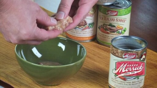 Merrick Gourmet Entrée Wingaling Canned Dog Food - image 5 from the video