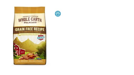 Whole Earth Farms Dry Dog Food - image 2 from the video