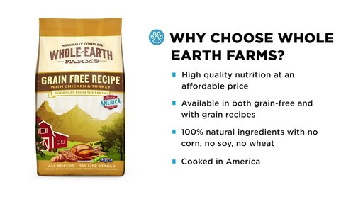 Whole Earth Farms Dry Dog Food - image 3 from the video