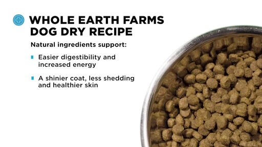 Whole Earth Farms Dry Dog Food - image 6 from the video