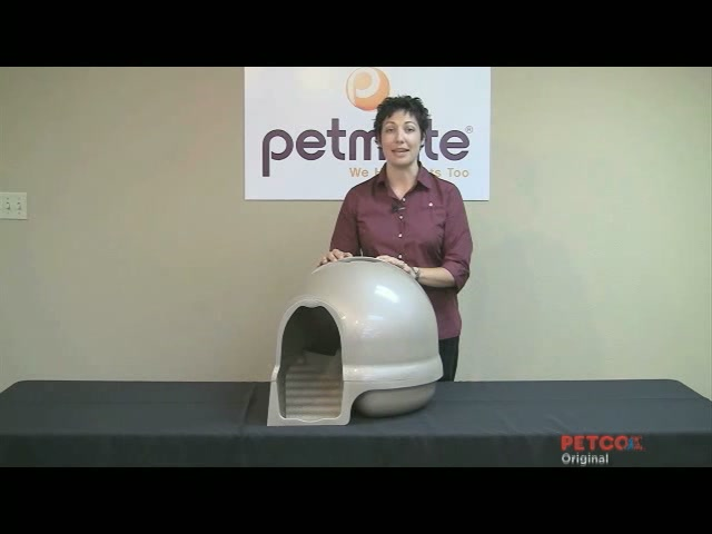 Clean Step Litter Box by Booda - image 2 from the video