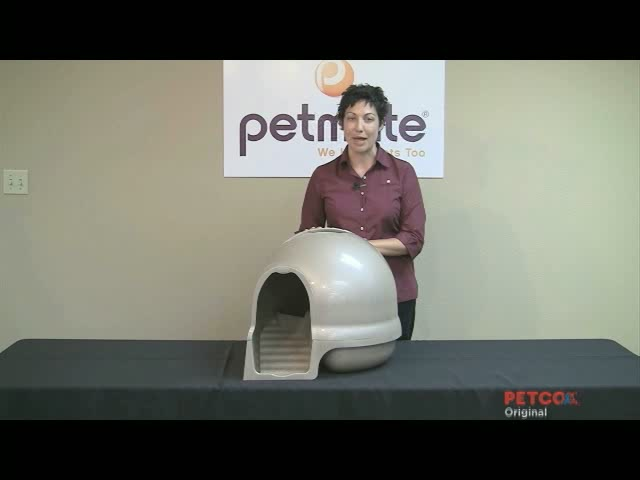 Clean Step Litter Box by Booda - image 6 from the video