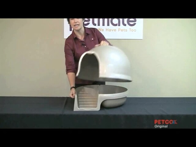 Clean Step Litter Box by Booda - image 7 from the video