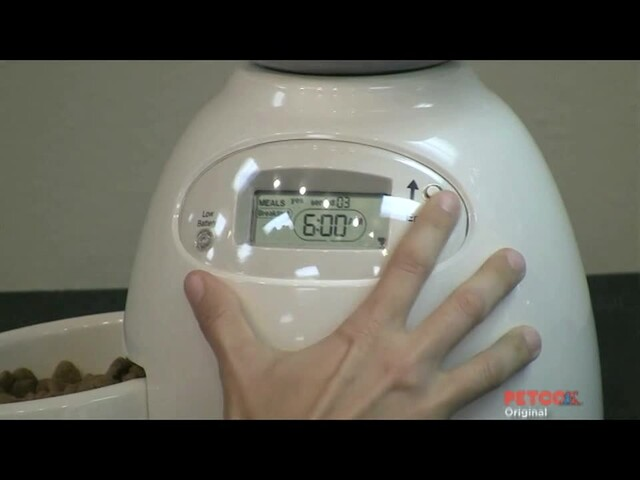 Petmate Le Bistro Portion Control Automatic Feeder - image 6 from the video