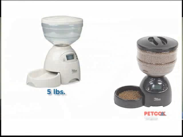 Petmate Le Bistro Portion Control Automatic Feeder - image 7 from the video