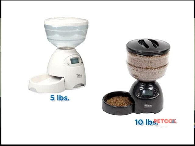 Petmate Le Bistro Portion Control Automatic Feeder - image 8 from the video