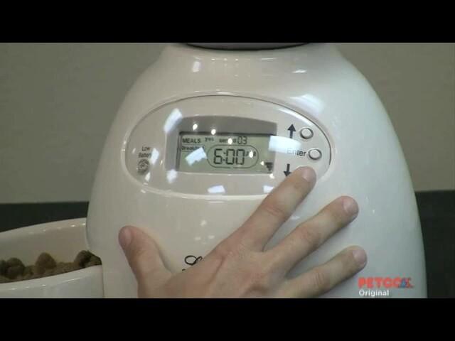 How-To Program the Petmate Portion Control Feeder - image 8 from the video