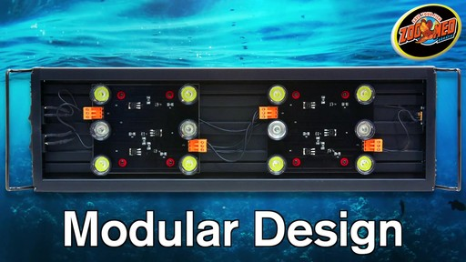 Zoo Med AquaSun LED Aquarium Hood - image 1 from the video