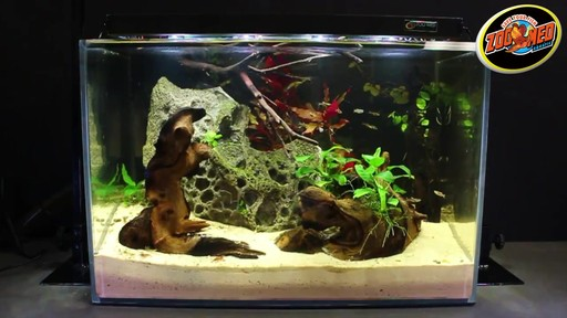 Zoo Med AquaSun LED Aquarium Hood - image 9 from the video