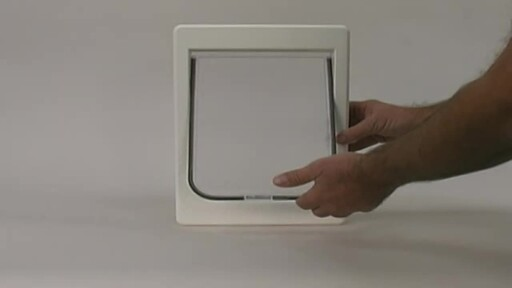 Tubby Kat Pet Door by Perfect Pet - image 3 from the video
