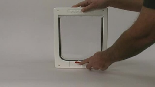 Tubby Kat Pet Door by Perfect Pet - image 6 from the video