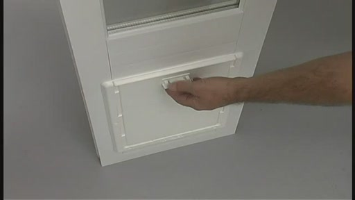 Vinyl Patio Door by Perfect Pet - image 10 from the video