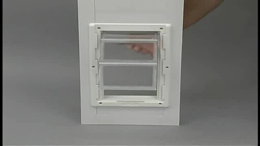 Vinyl Patio Door by Perfect Pet - image 4 from the video