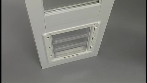 Vinyl Patio Door by Perfect Pet - image 9 from the video