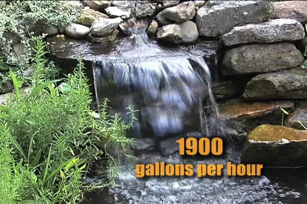 How-to Choose a Pump for Your Pond - image 9 from the video