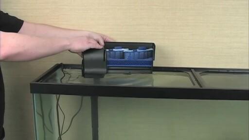 Aqueon QuietFlow Aquarium Power Filters - image 10 from the video