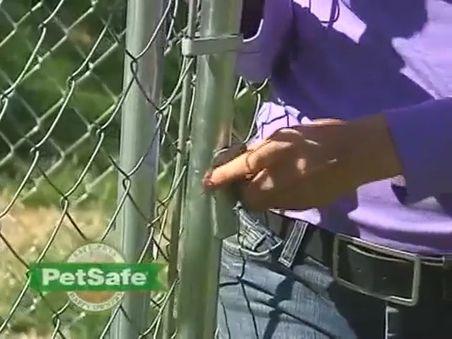 PetSafe Chain Link Dog Kennel - image 10 from the video