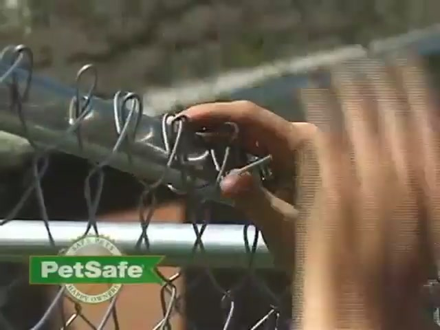 PetSafe Chain Link Dog Kennel - image 9 from the video