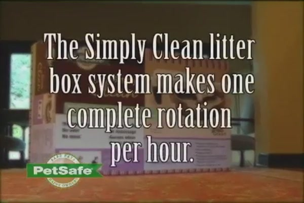 Simply Clean Litter Box by PetSafe - image 7 from the video
