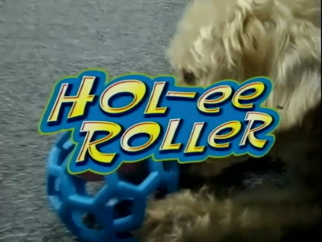 Hol-EE Roller Dog Toy - image 1 from the video
