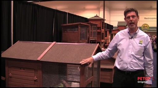 WARE Premium   Chick-N-Lodge Chicken Coop - image 3 from the video