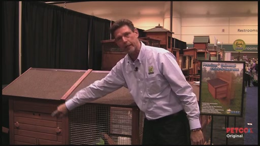 WARE Premium   Chick-N-Lodge Chicken Coop - image 4 from the video