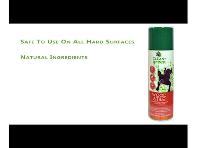 CLEAN   green Wood & Tile Cleaner - image 10 from the video