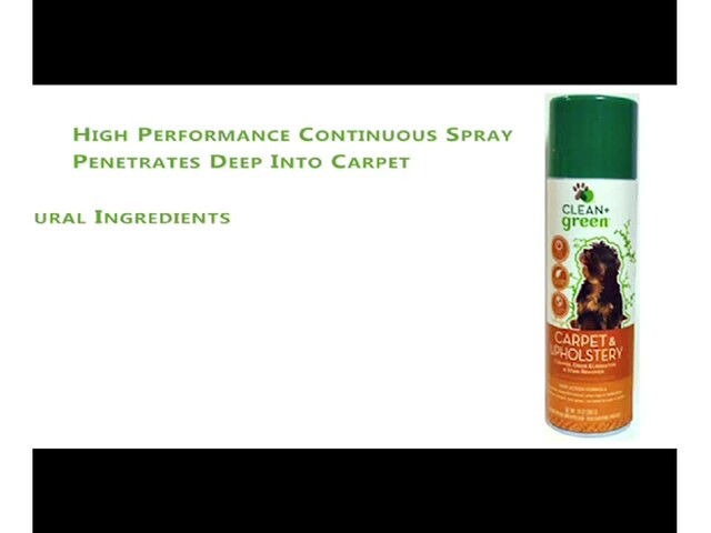 CLEAN   green Carpet & Upholstery Cleaner - image 10 from the video