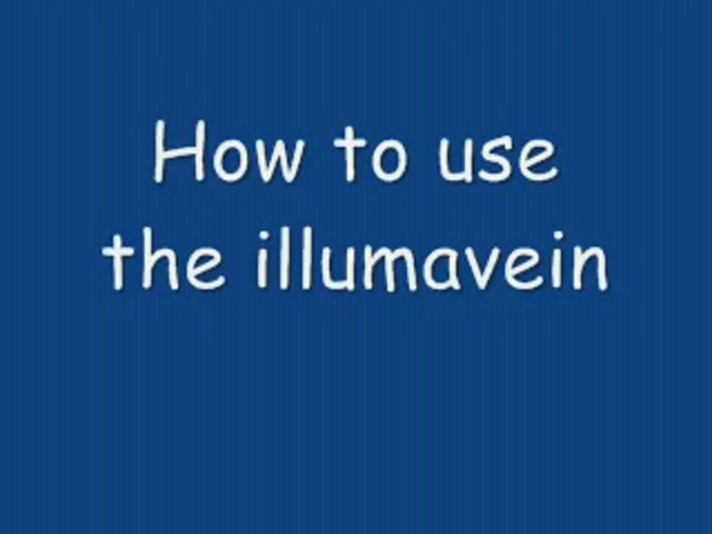 How-To Use Illumavein - image 1 from the video