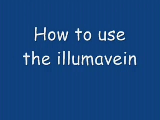 How-To Use Illumavein - image 2 from the video