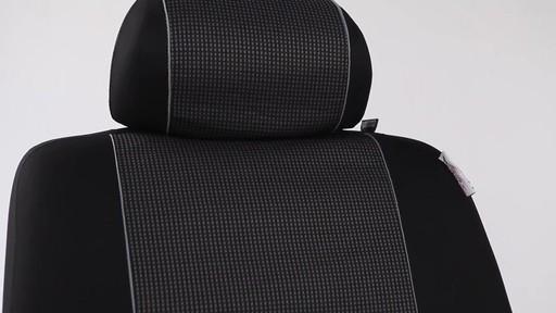 Masque Monaco Seat Covers In Grey Black